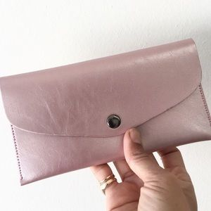 Handbags - MINIMAL WALLET IPHONE POUCH IN ROSE GOLD